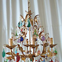 5-Light Tutti Frutti Chandelier