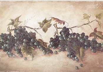 Grape Cluster Fresco