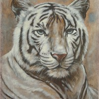 White Tiger Fresco