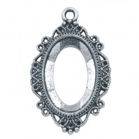 Antiqued Frame Pendant