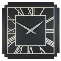 Black Deco Clock
