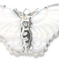 Butterfly Shell Pendant