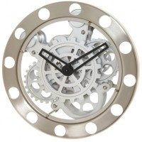 Future Steampunk Wall Clock