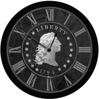 Liberty Coin Clock