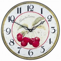 Red Cherry Clock