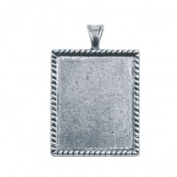 Comes in pewter (pictured) or brass