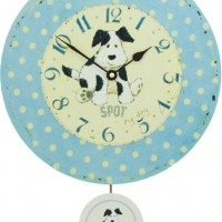 Spot the Dog Kids Clock