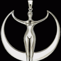Sterling silver (pictured) or pewter