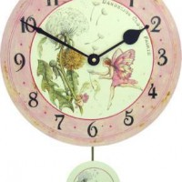 Wildflower Fairy Clock