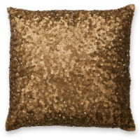 Copper Sequin Cushion Cover