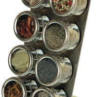 Double Row Spice Rack