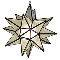 Frosted Glass  Star Lantern