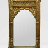 Indian Gold Mirror