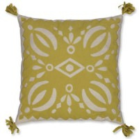 Lime Cutout Pillowcase