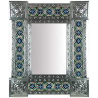 Mexican Tiled Mirror