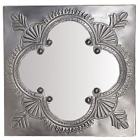 Oaxacan Hammered Tin Mirror