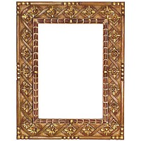 Painted Wood Mirror Frame