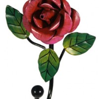 Rose Coat Hook