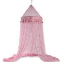 Rosy Pink Mosquito Net