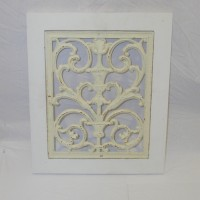 Small Decorative Iron Panel