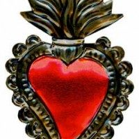 Small Tin Napoli Heart