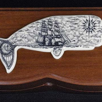 South Seas Whale Box