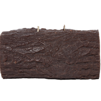 Yule Log Candle