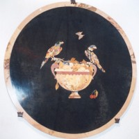 Decorative Round Marble Mosaic
