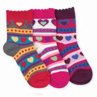 Hearts on Hearts Socks