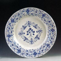 Lacy Blue Plate