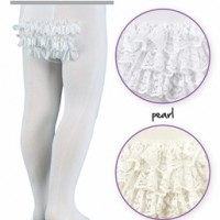 Lacy Ruffle Tights