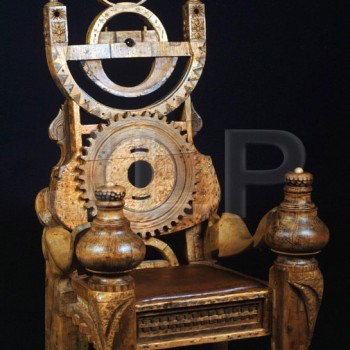 Steampunk Throne