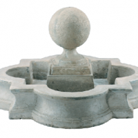 Stone Sphere Fountain