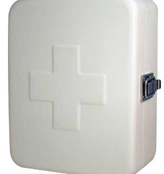 White First Aid Box