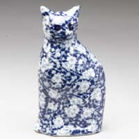 Porcelain Mystery Cat