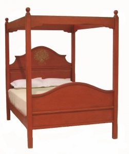 Carriage Canopy Bed