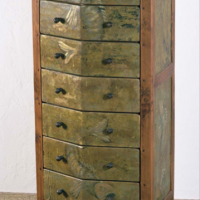 Pentagonal Chest of Drawers