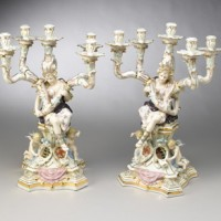 Porcelain People Candleholders