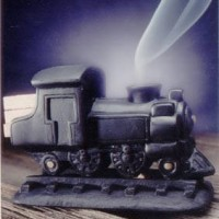 Steam Engine Pinon Incense Burner