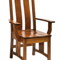 Amish Style Arm Chair