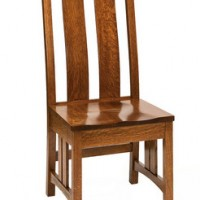 Amish Style Side Chair