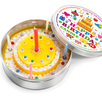 Birthday Cake in a Box Candle