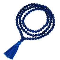 Blue Agate Mala Prayer Beads