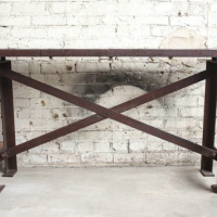 Bridgework Iron Table