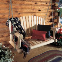 Cedar Porch Swing