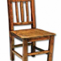 Child's Pine Wood Chair