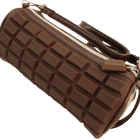 Chocolate Scented Makeup Bag