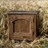 Country Cabinet Side Table