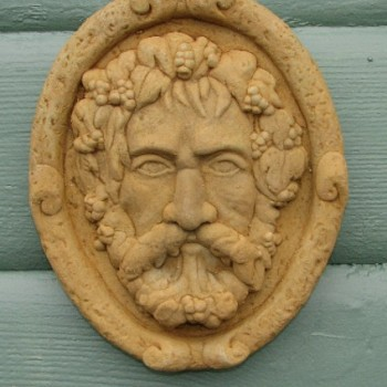 Garden Watchman Plaque