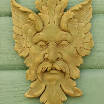 Green Man Garden Plaque
